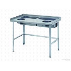 Стол для дочистки овощей СО 2/1500/800