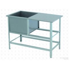 Моечная ванна сварная ВСМС-1/430 со столом