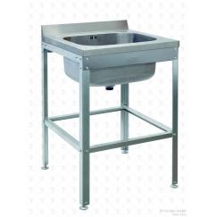Моечная ванна цельнотянутая ВСМЦ-1/600 односекционная