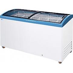 Морозильный ларь с гнутыми стеклами ITALFROST CF500C