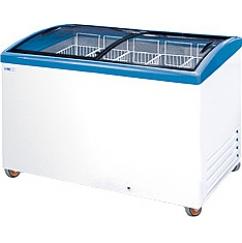 Морозильный ларь с гнутыми стеклами ITALFROST CFT400C
