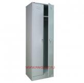 Шкаф металлический двухсекционный ШРМ - 22