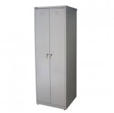 Шкаф металлический двухсекционный ШРМ - АК/500