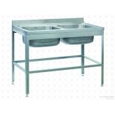 Моечная ванна цельнотянутая ВСМЦ-2/1200 двухсекционная