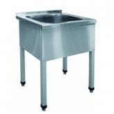 Ванна моечная 1-о секционная ВМП-6-1-5РЧ (каркас крашеный)